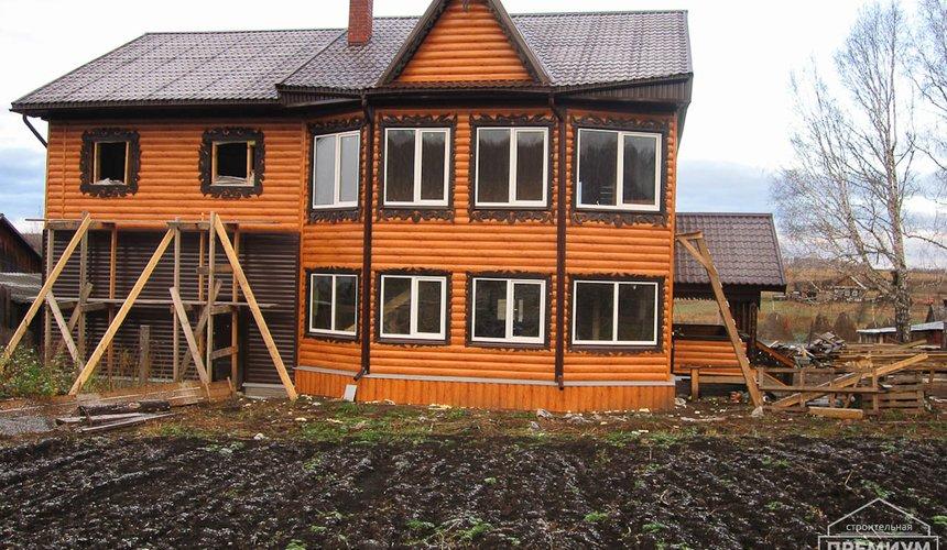 Проектирование и строительство дома из бруса в д. Рябиновка 59
