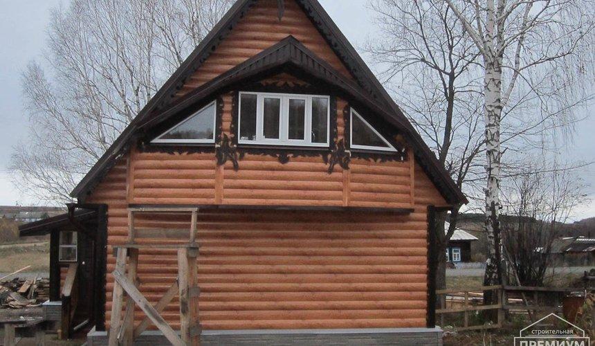 Проектирование и строительство дома из бруса в д. Рябиновка 62