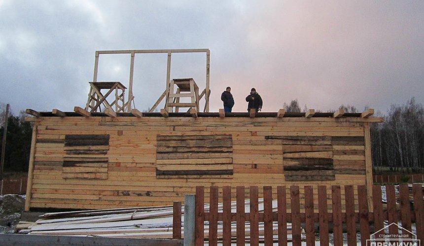 Строительство дома из бруса в д. Рябиновка 2 2