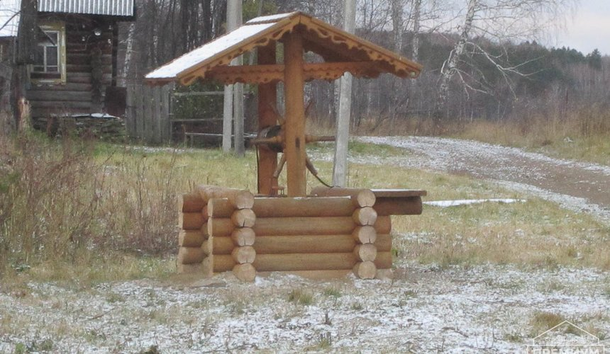 Строительство дома из бруса в д. Рябиновка 2 3