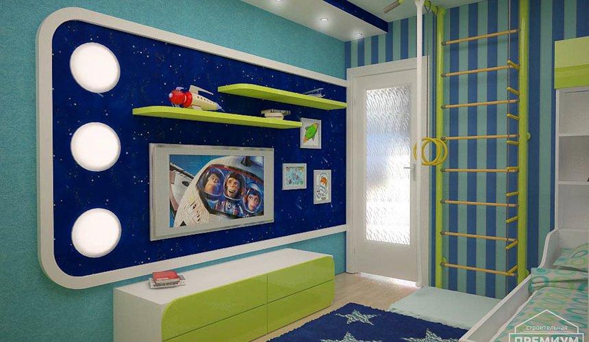 Интерьер детской комнаты для мальчика Глобус 5