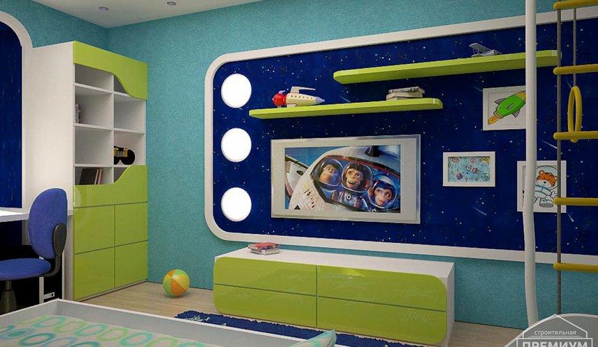 Интерьер детской комнаты для мальчика Глобус 7