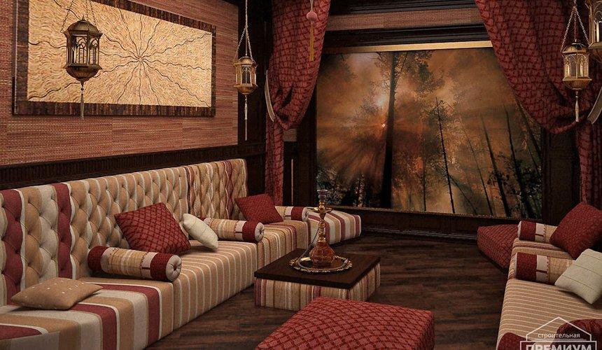Дизайн интерьера третьего этажа коттеджа Шафран 3