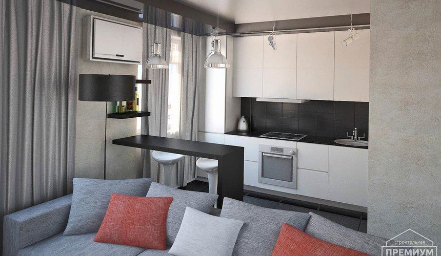 Дизайн интерьера однокомнатной квартиры по ул. Крауля 56 4