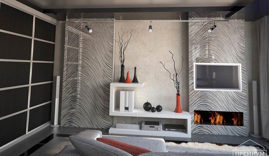 Дизайн интерьера однокомнатной квартиры по ул. Крауля 56 5