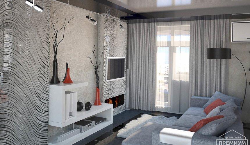 Дизайн интерьера однокомнатной квартиры по ул. Крауля 56 7