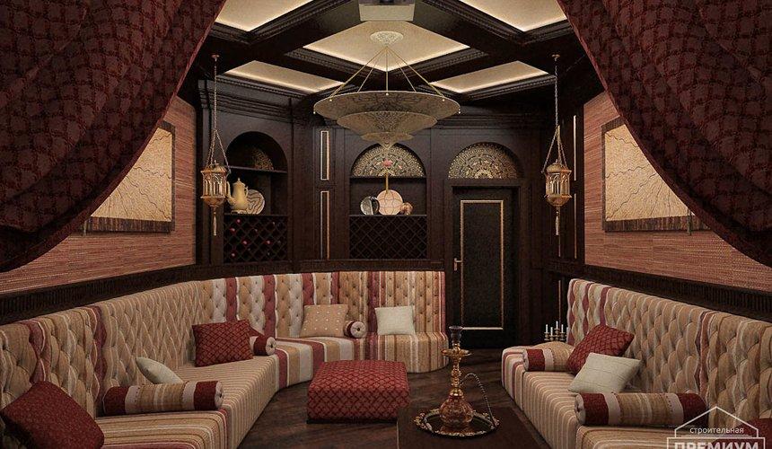 Дизайн интерьера третьего этажа коттеджа Шафран 4
