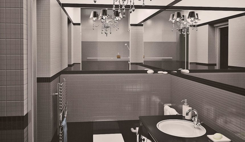 Дизайн интерьера однокомнатной квартиры по ул. Крауля 56 13