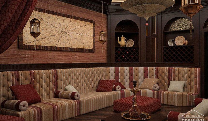 Дизайн интерьера третьего этажа коттеджа Шафран 5