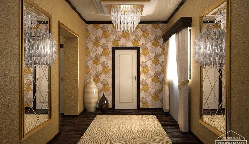Дизайн интерьера второго этажа коттеджа Сахар 29