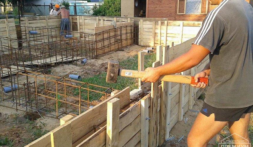 Строительство коттеджа из каркаса в п. Исток 22