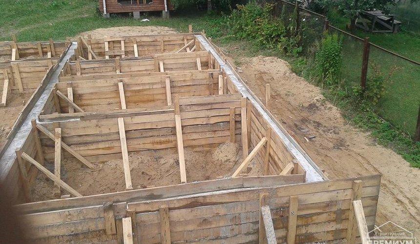 Строительство коттеджа из каркаса в п. Исток 34