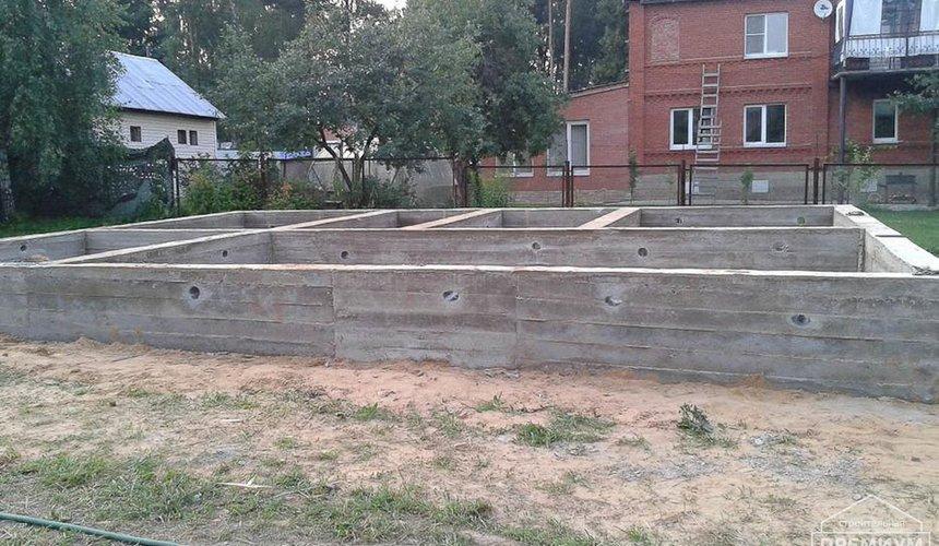 Строительство коттеджа из каркаса в п. Исток 35