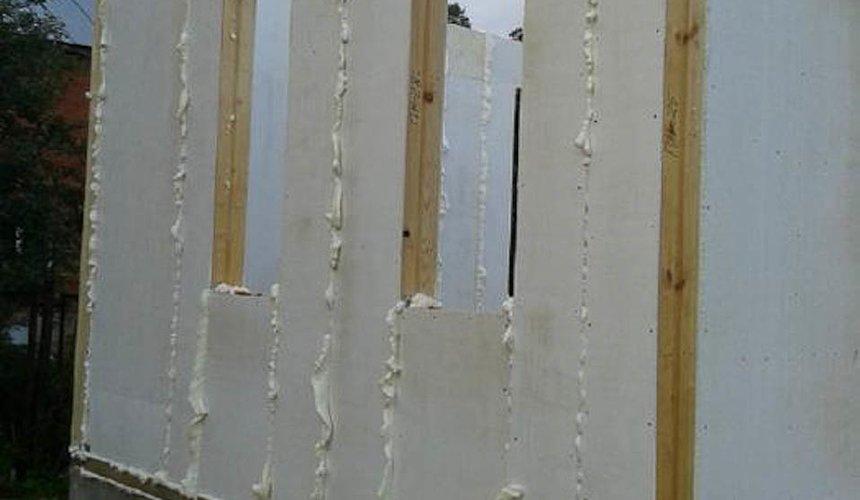Строительство коттеджа из каркаса в п. Исток 41