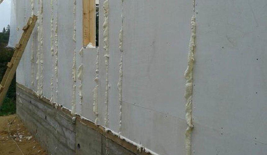 Строительство коттеджа из каркаса в п. Исток 42
