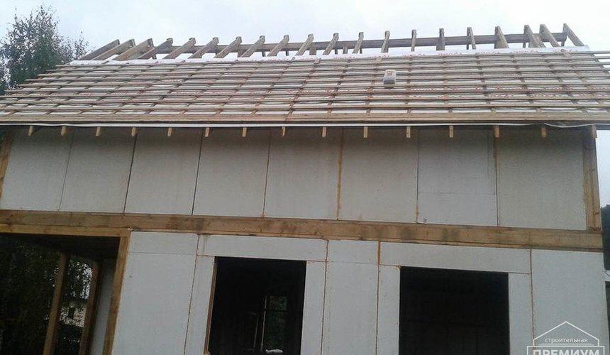 Строительство коттеджа из каркаса в п. Исток 53