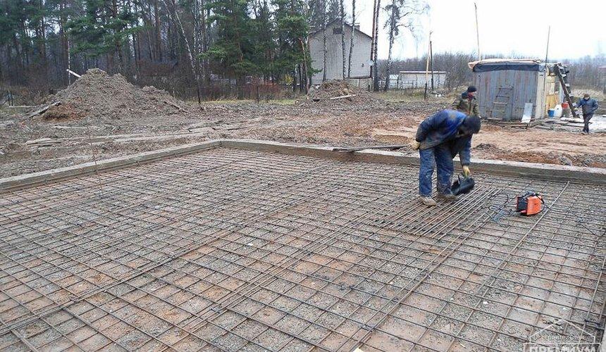 Строительство коттеджа из блоков в р-н Кольцово 4