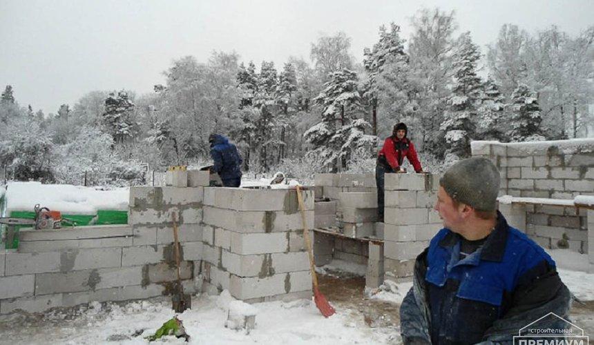 Строительство коттеджа из блоков в р-н Кольцово 9
