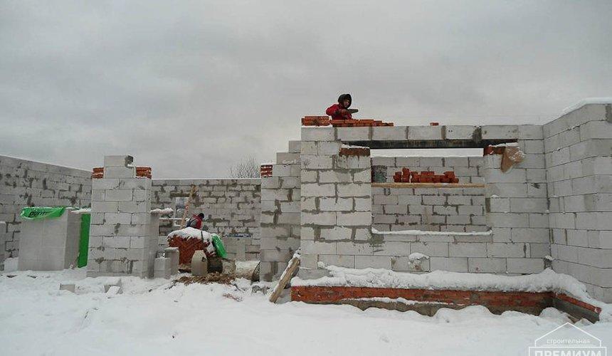 Строительство коттеджа из блоков в р-н Кольцово 14
