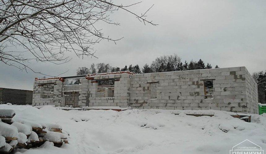Строительство коттеджа из блоков в р-н Кольцово 17