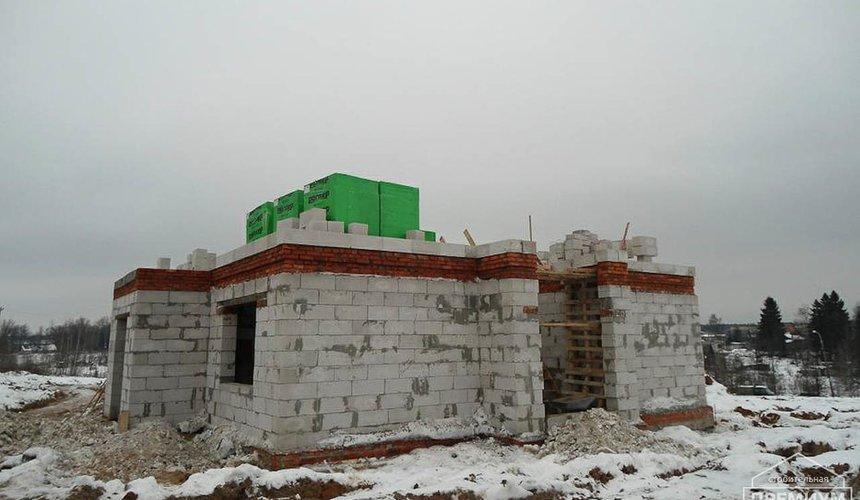 Строительство коттеджа из блоков в р-н Кольцово 18