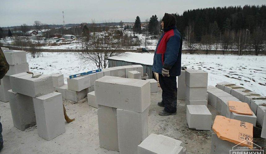 Строительство коттеджа из блоков в р-н Кольцово 19