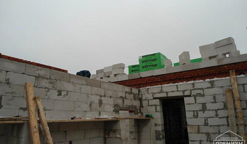 Строительство коттеджа из блоков в р-н Кольцово 21