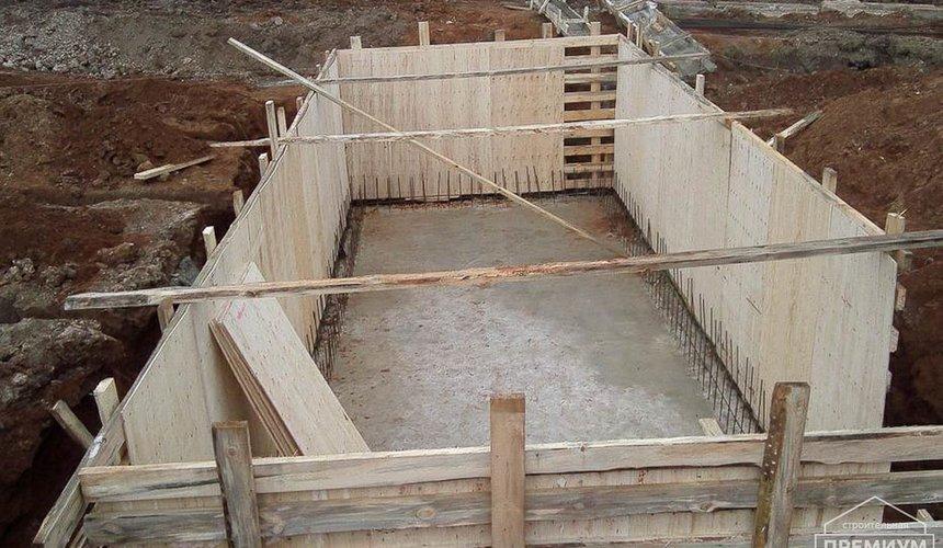 Строительство коттеджа из блоков в р-н Кольцово 26