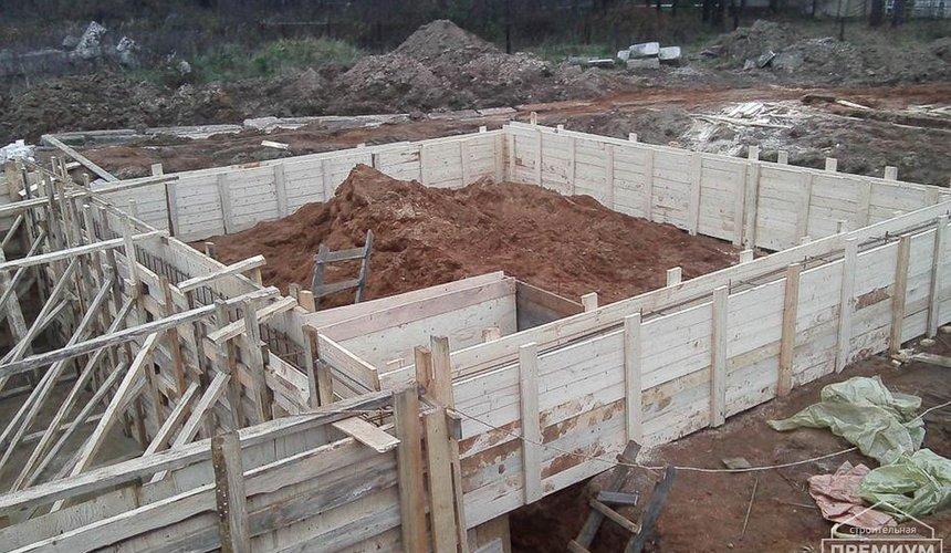 Строительство коттеджа из блоков в р-н Кольцово 29