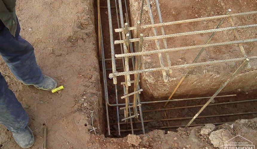 Строительство коттеджа из блоков в р-н Кольцово 30