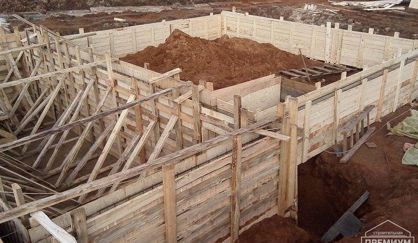 Строительство коттеджа из блоков в р-н Кольцово 31