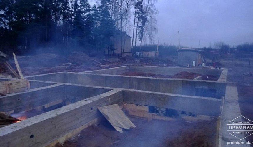 Строительство коттеджа из блоков в р-н Кольцово 36