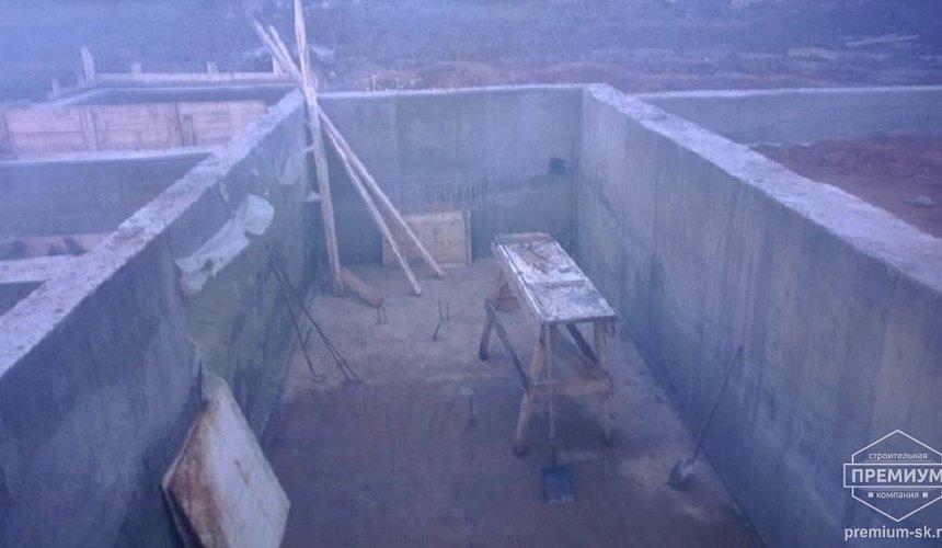 Строительство коттеджа из блоков в р-н Кольцово 37