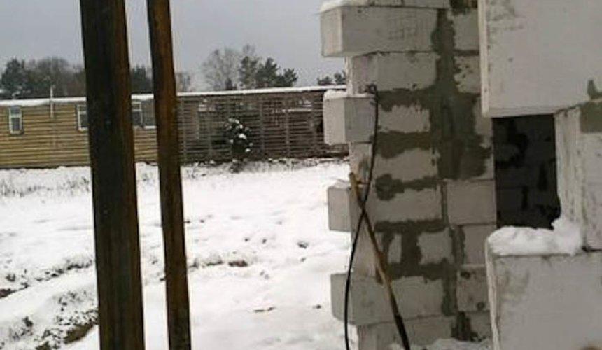 Строительство коттеджа из блоков в р-н Кольцово 41