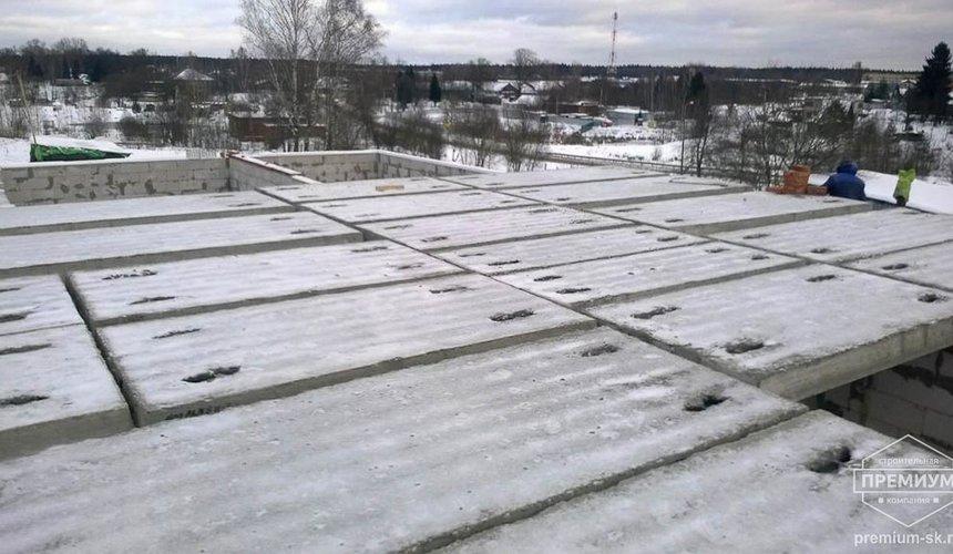 Строительство коттеджа из блоков в р-н Кольцово 42