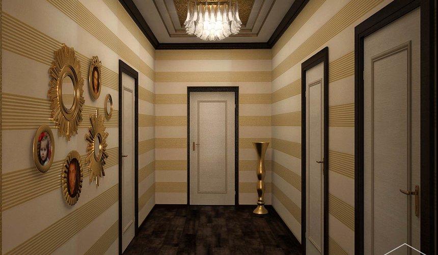 Дизайн интерьера второго этажа коттеджа Сахар 32