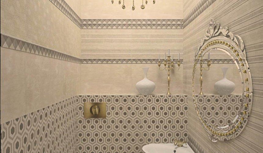 Дизайн интерьера второго этажа коттеджа Сахар 26