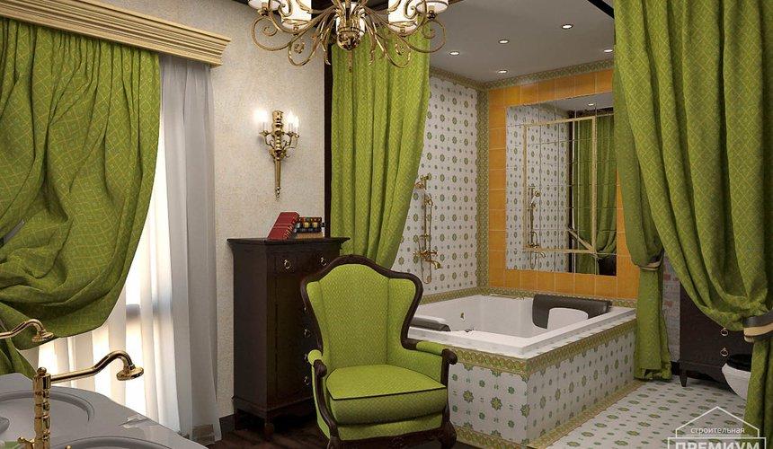 Дизайн интерьера второго этажа коттеджа Сахар 15
