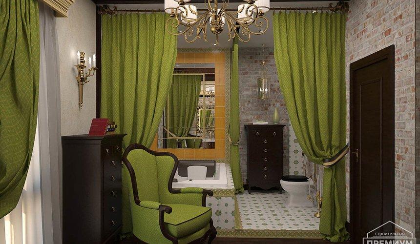 Дизайн интерьера второго этажа коттеджа Сахар 18