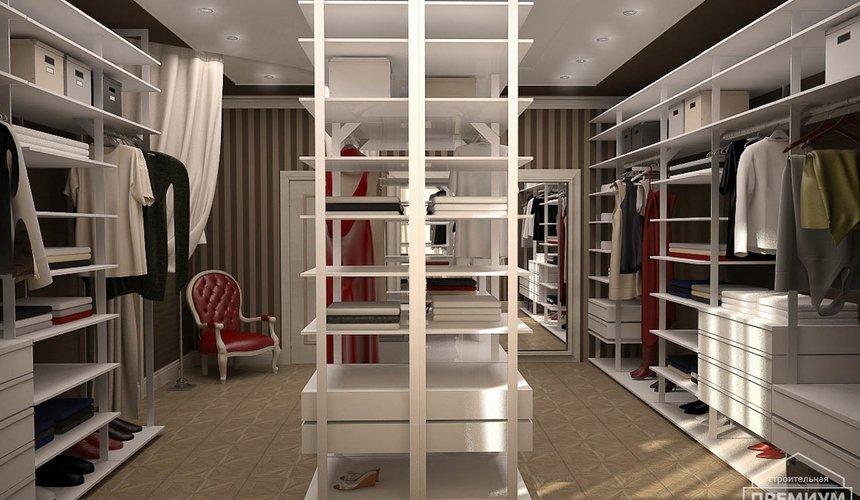 Дизайн интерьера второго этажа коттеджа Сахар 11