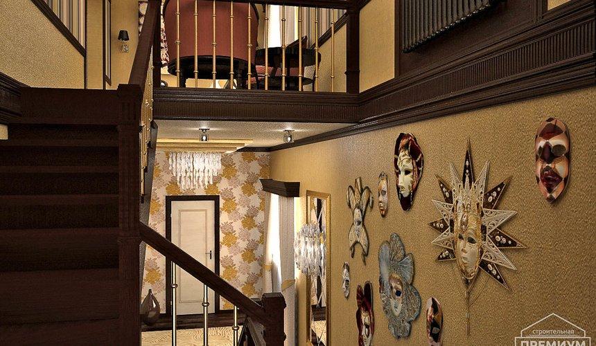 Дизайн интерьера третьего этажа коттеджа Шафран 7