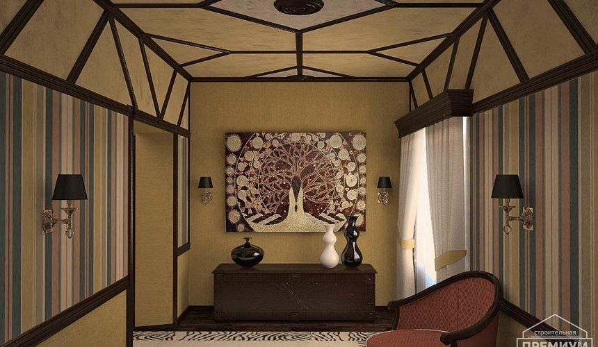 Дизайн интерьера третьего этажа коттеджа Шафран 8