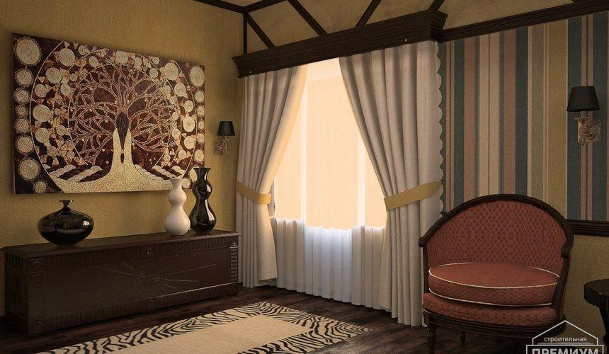 Дизайн интерьера третьего этажа коттеджа Шафран 9