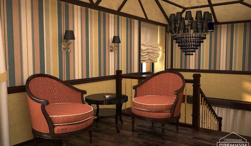 Дизайн интерьера третьего этажа коттеджа Шафран 10