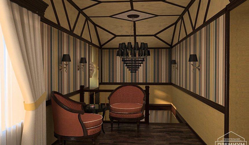 Дизайн интерьера третьего этажа коттеджа Шафран 11
