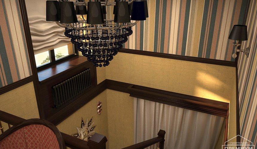 Дизайн интерьера третьего этажа коттеджа Шафран 12