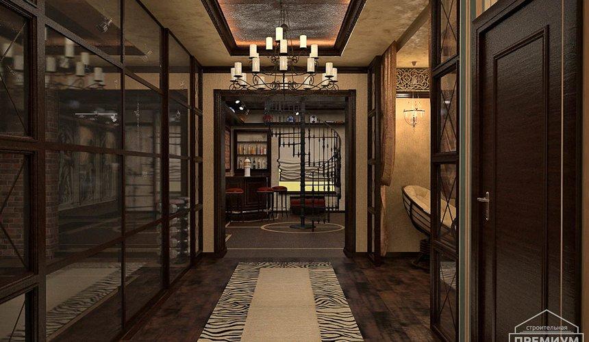 Дизайн интерьера третьего этажа коттеджа Шафран 13