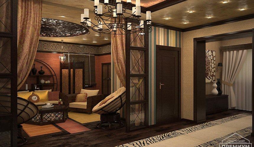 Дизайн интерьера третьего этажа коттеджа Шафран 15