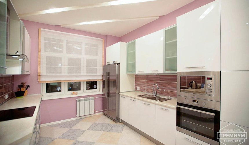 Ремонт и дизайн интерьера трехкомнатной квартиры по ул. Чкалова 124 12