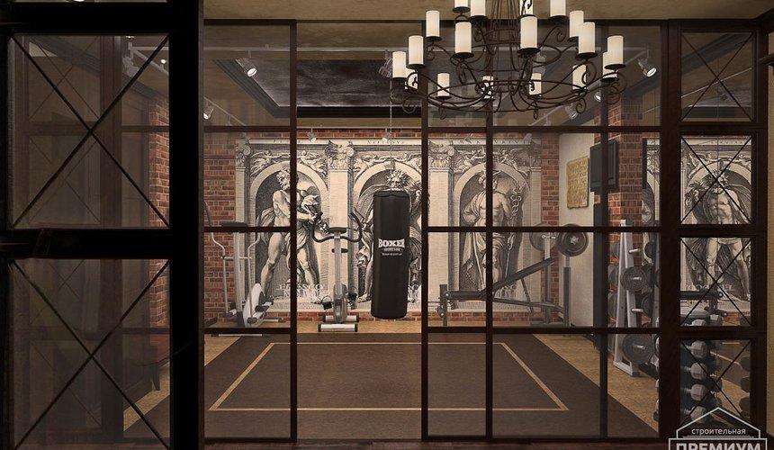 Дизайн интерьера третьего этажа коттеджа Шафран 22